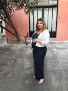 clothilde enceinte