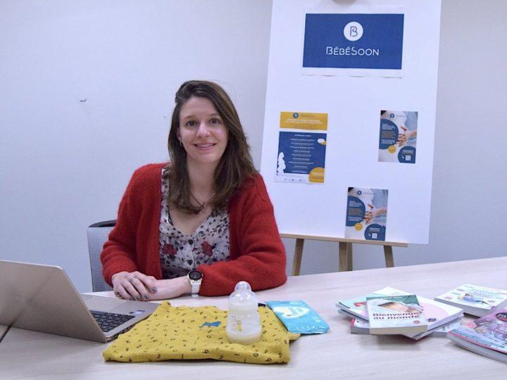 Femme entrepreneuse, Claire Mathis adapte BébéSoon avec l'appui d'Orange