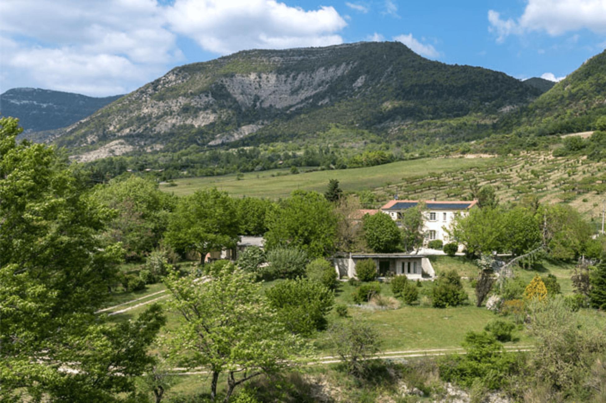 Paysage de La Roseraie